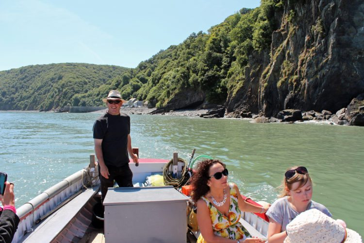 Clovelly boat trip