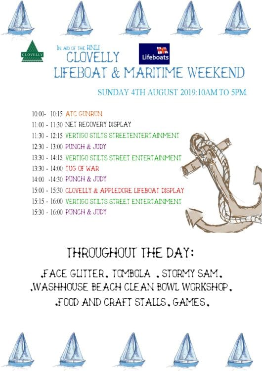 Clovelly Lifeboat & Maritime Weekend
