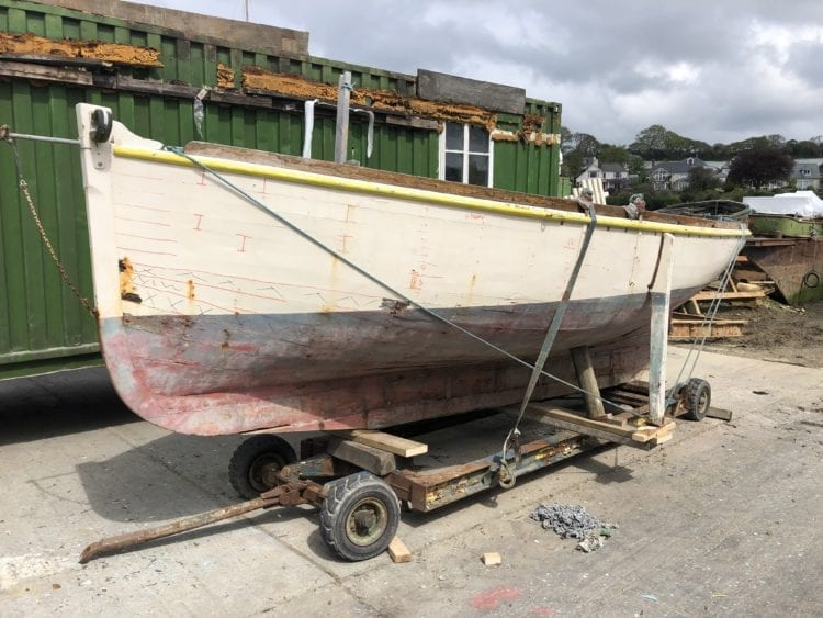 Classic maritime heritage oyster boat, Bessie